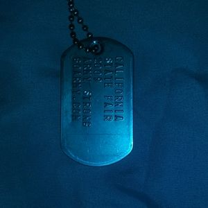 Jewelry - A california state fair dogtag necklace